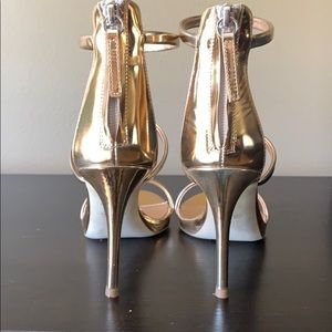 Giuseppe Zanotti Shoes - Size 37 Giuseppe Zanotti rose gold Harmony 90